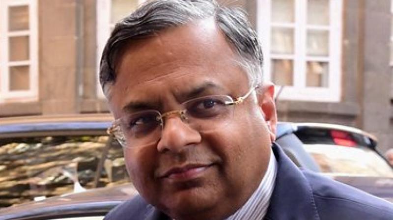 Tata Group chairman N Chandrasekaran