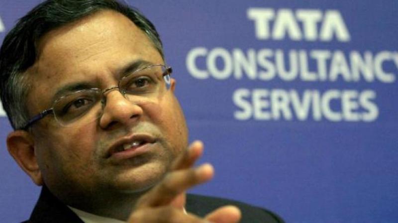 Tata Sons chairman N Chandrasekaran.