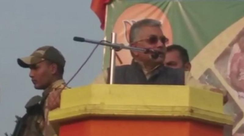 Ghosh also accused the police of lodging 'fake' cases against his party workers.  (Photo: ANI | Twitter)