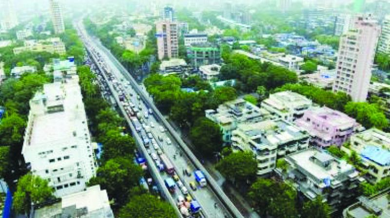 File picture of Sion flyover.