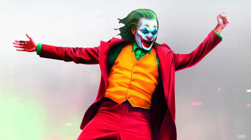 No laughing matter. The character of Arthur Fleck in the movie Joker, played by Joaquin Phoenix, suffers from the pseudobulbar affect, a mental disorder that causes him to laugh uncontrollably.