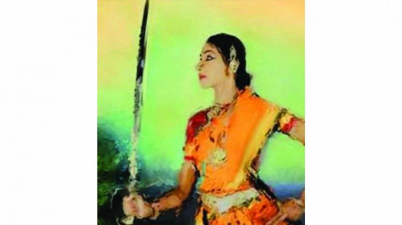 India's first woman freedom fighter, Rani Abbakka Chowta (Paintings from the Ullal Museum)
