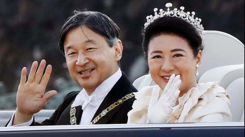 Japanese Emperor Naruhito will be ushered into a dark wooden hall on Thursday night to celebrate his last major accession rite after becoming emperor this spring: spending the night with a goddess. (Photo: AP)