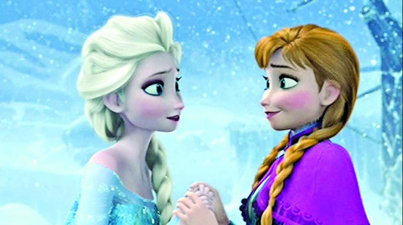 A still from the movie Frozen 2
