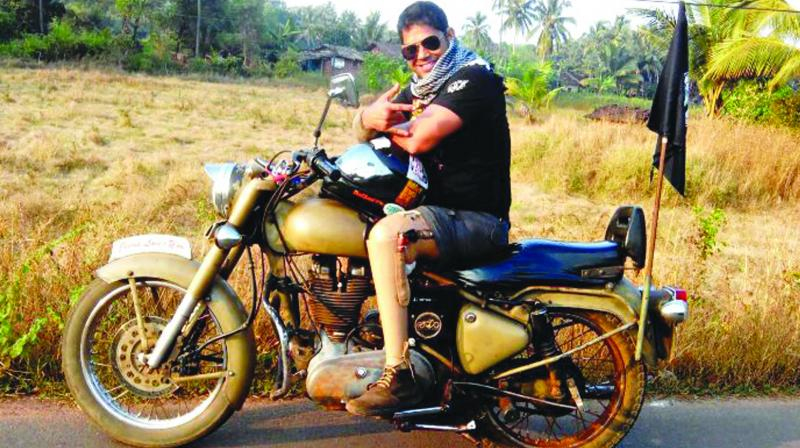 Vinod Rawat is a nationally acclaimed Royal Enfield rider, who has cycled, swam, and ran his way around some of the most difficult routes in the country.