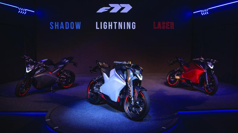 Priced between Rs 3 lakh and Rs 3.25 lakh on road pan India, the Ultraviolette F77 bike introduced on Wednesday gets a 4.2kWh battery that offers a range between 130-150 km depending on the power riding mode one opts for — Eco, Sport and Insane.