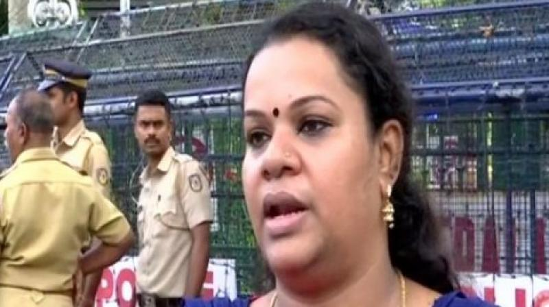 Hailing the Supreme Court's verdict on Sabarimala, BJP state district secretary Anjana on Sunday warned women's rights activist Trupti Desai over her upcoming visit to the temple and said she cannot even imagine that