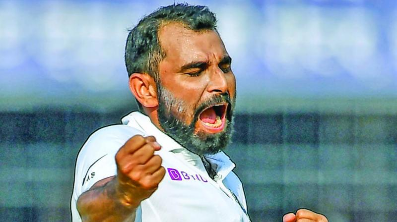 Mohammad Shami intends on keeping things simple for the historic pink-ball Test. (Photo: File)