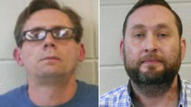 Two Arkansas college chemistry professors have been arrested on charges of making meth, in an apparent case of life imitating art. (Photo: AP)