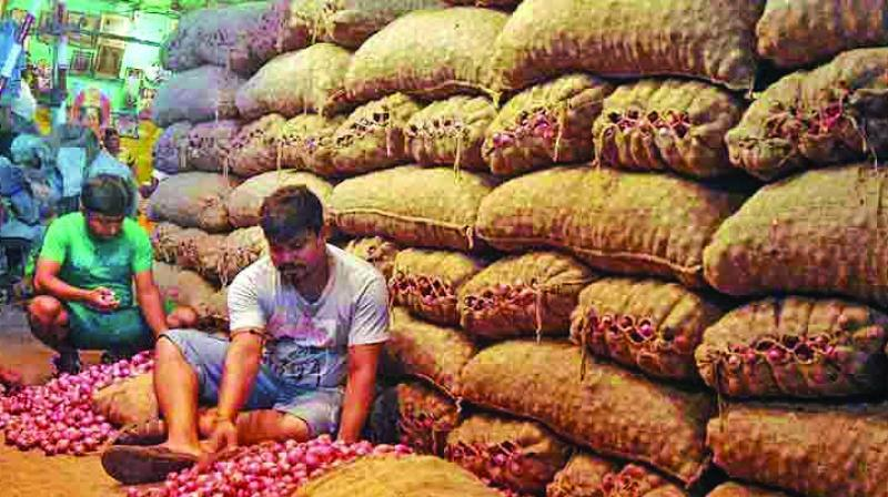 Onion prices have been ruling high for past few weeks due to fall in production of the Kharif crop following unseasonal rainfall in key growing states, including Maharashtra.