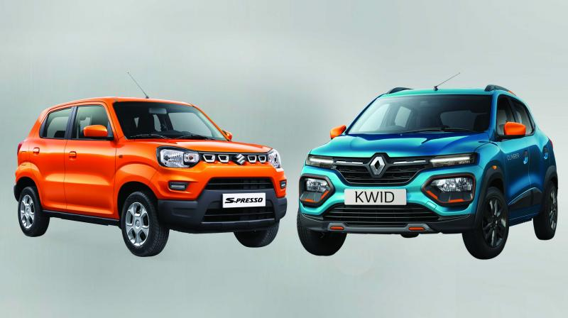 In the battle between two 'almost SUVs' — the Maruti Suzuki S-Presso and the Renault Kwid — both vehicles happen to be the winner.