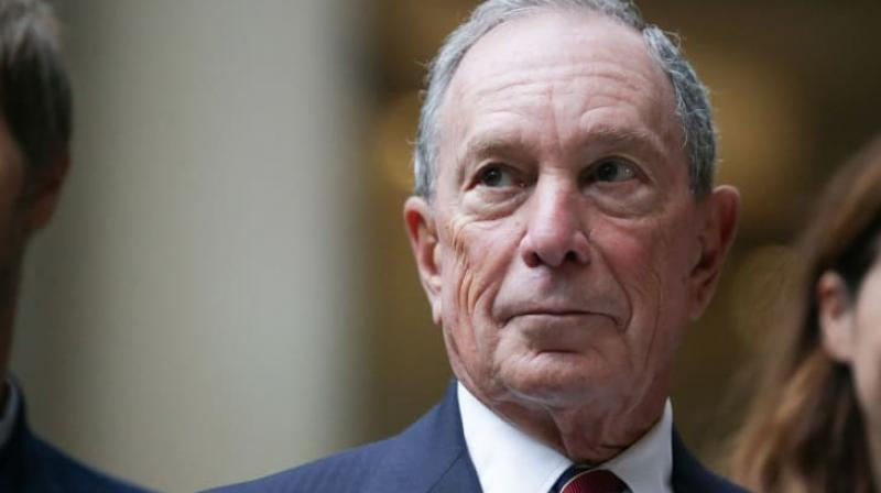 Michael Bloomberg, the former New York City Mayor known for his climate change activism and a strong supporter of US-India relationship, on Sunday announced he is running for the 2020 US Presidential race from the Democratic party. (Photo: AFP)