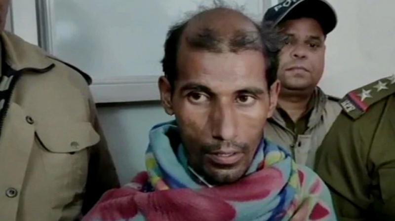 A man was arrested on Thursday for setting a coach of Rishikesh-Delhi Passenger train on fire after he was apparently not issued an ID card. (Photo: Twitter/ ANI)