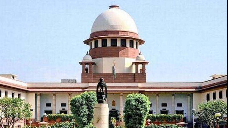 File image of Supreme Court of India. (ANI)