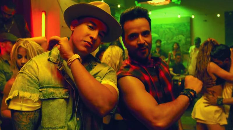 A still from Luis Fonsi and Daddy Yankee's song Despacito