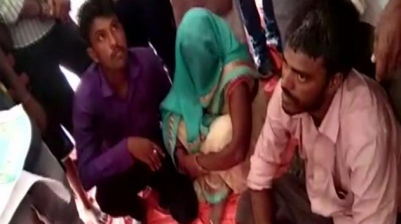 The exchange was made in the presence of the Panchayat which directed the woman's lover to compensate her husband with half of his flock. (Photo: ANI)