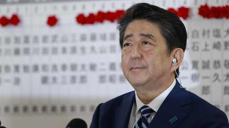 Japanese Prime Minister Shinzo Abe (Photo: AP)
