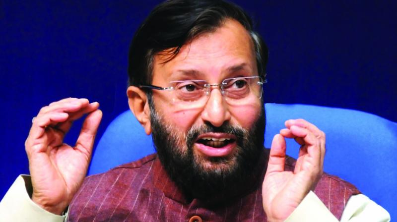 Prakash Javadekar	 (Photo: G.N. Jha)
