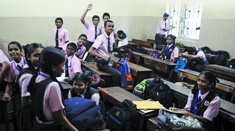 In a village in Madurai district, students from the Dalit community can't enrol their children to schools. At least 65 FIRs are registered every year because of clashes between two students' groups based on castes. (Photo: File | Representational)