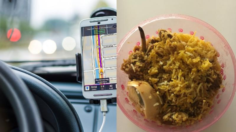 Steven Medway received the biryani the next day through the driver from Fasal biryani. (Photo: Pixabay/Facebook)
