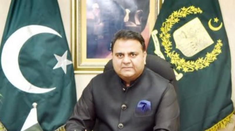 Fawad Chaudhry, Minister for Science and Technology, said the selection process of the astronaut for the space mission would start from February 2020. (Photo: Twitter I @fawadchaudhry)