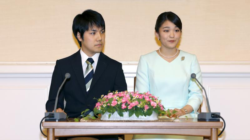 Japanese princess marries for love, gives up royal status