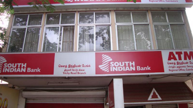 South Indian Bank on Monday reported a jump of 51 per cent in net profit at Rs 114.10 crore for March quarter.