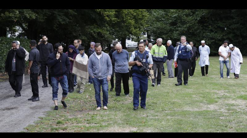A man who claimed responsibility for the shootings said in a manifesto that he was a 28-year-old white Australian who came to New Zealand only to plan and train for the attack. (Photo: AP)