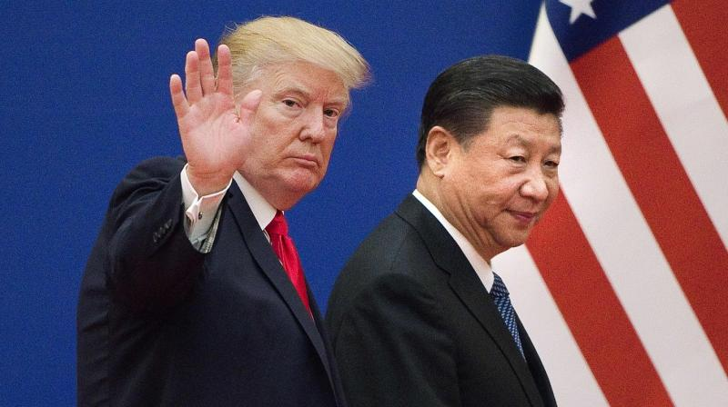 US President Donald Trump and China's President Xi Jinping (AFP)