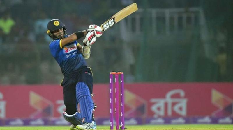 Sri Lanka's 25-year-old Kusal Mendis is 'unlikely' to find a place in the playing eleven in the first T20I against India (Guwahati, January 5), it is learnt here. (Photo:AFP)