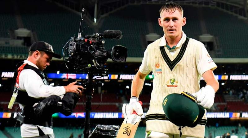 Since becoming the first-ever anti-concussion substitute player, Marnus Labuschagne's journey has been nothing short of phenomenal. Since his extraordinary knocks in the Ashes series, the Australian cricketer amassed 1185 runs in 13 matches, including a top knock of 185 against Pakistan. (Photo:AFP)