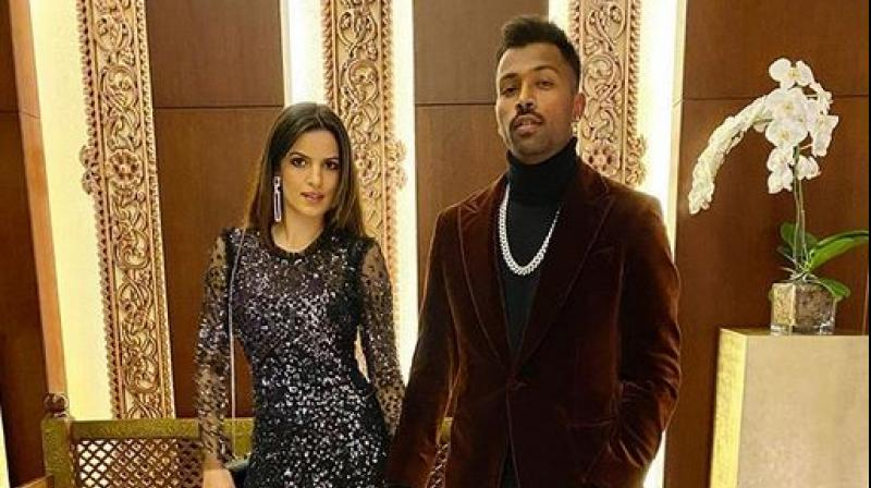 On the first day of the New Year 2020, Hardik Pandya announced his engagement with Serbian actor Natasa Stankovic. (Photo:Instagram))
