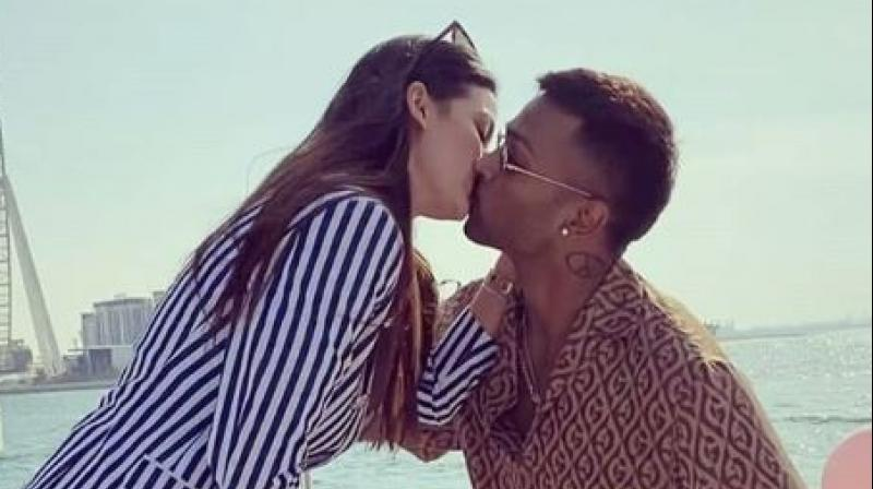 Thrilled after getting to know about Hardik Pandya and Natasa Stankovic's engagement, skipper Virat Kohli on Wednesday called it is a 'pleasant surprise'. (Photo:Instagram)