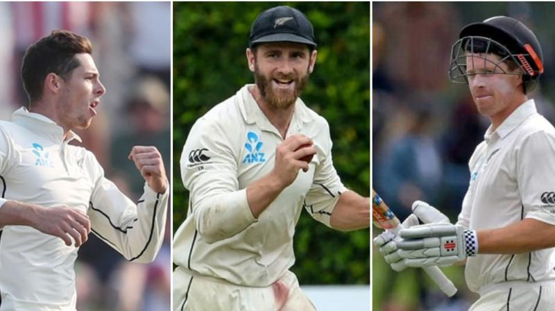 New Zealand sweated on the fitness of batting kingpin and captain Kane Williamson Thursday after he and Henry Nicholls missed a second day of training ahead of the final Test against Australia. Spinner Mitchell Santner is also unwell and did not practise on Thursday, with batsman Glenn Phillips making a late dash to Sydney Thursday evening as cover. (Photo:AFP)