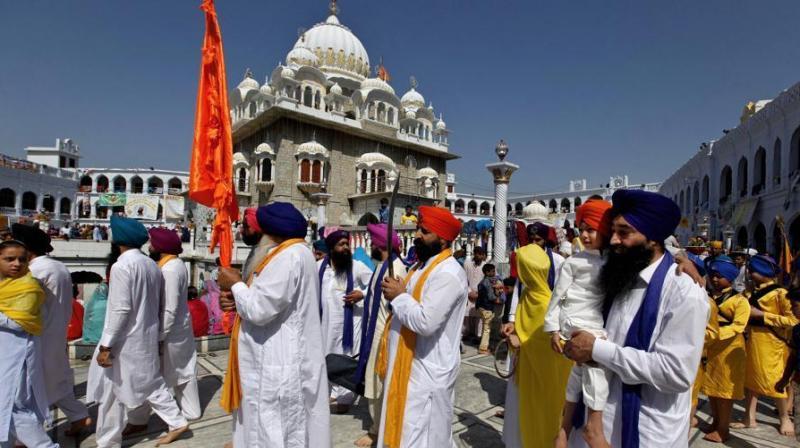 A jatha (batch) of 1,800 Indian Sikh pilgrims is currently visiting Pakistan. (Photo: APRepresentational)
