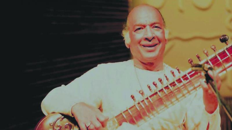 Ustad Vilayat Khan (Photo: Shobha Deepak Singh)