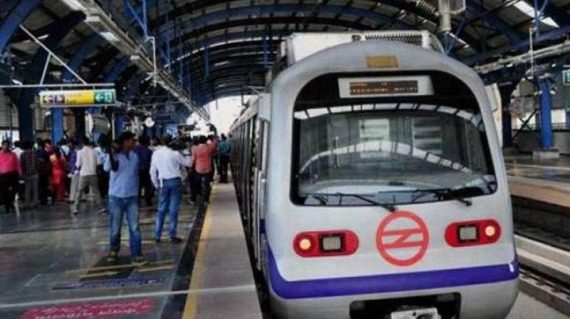 The incident led to delay in operations of some trains on the Yellow Line. (Representational image)