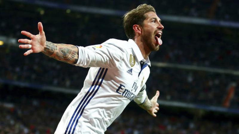 Victory for Madrid moves Real two points clear of Barcelona and with a game in hand still to come. (Photo: AP)