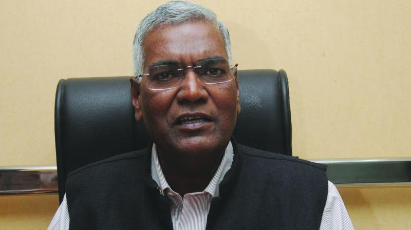 CPI national secretary D. Raja