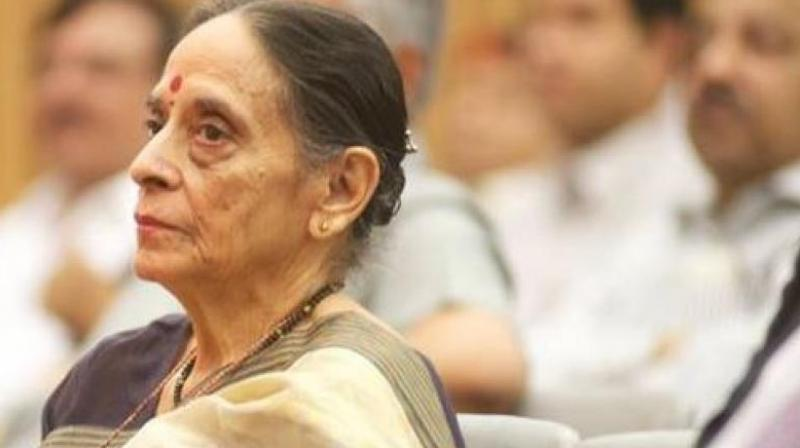 Leila Seth (Photo: ANI/Twitter)