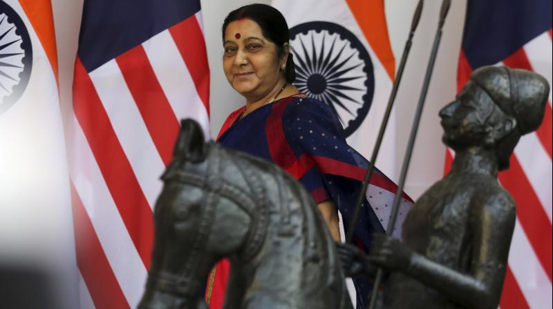 Foreign Minister Sushma Swaraj (Photo: PTI)