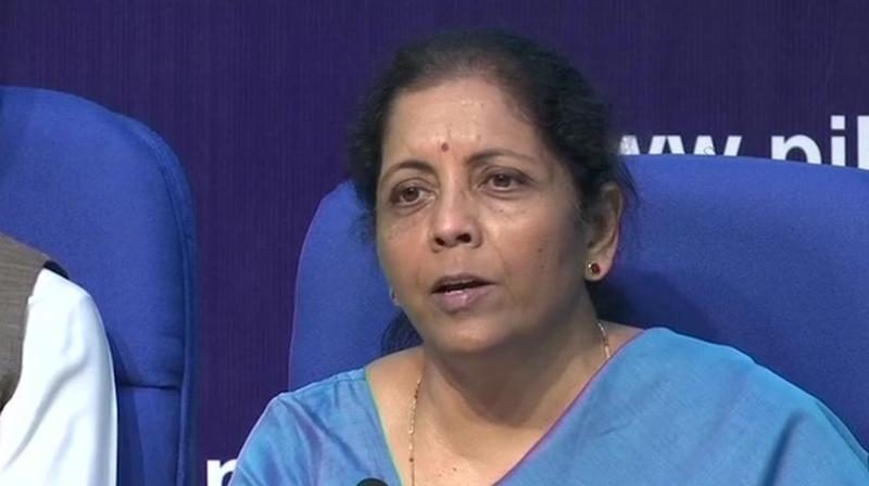Nirmala Sitharaman said the government's decision is not just going to be purely on the basis of what is happening presently between the United States and China. (Photo: File)