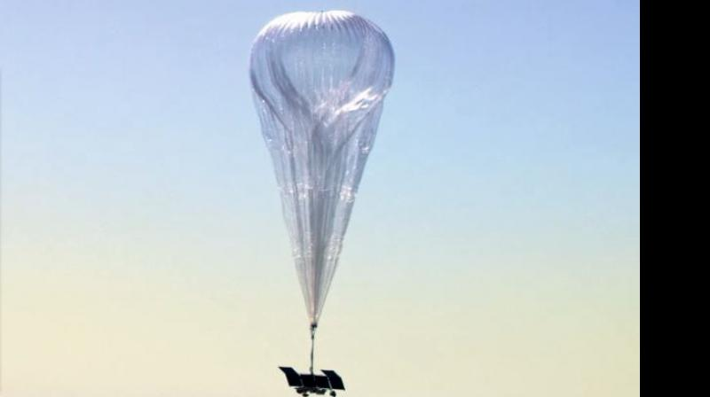 A picture of the internet-beaming balloons by Google's parent Company, Loon (Imge Source: Loon website)