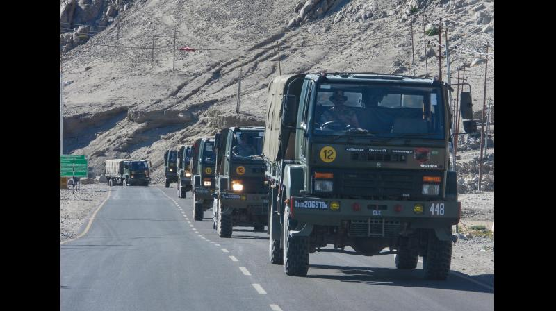 China had shown no interest to further de-escalate the situation in other friction points. Representational Image. (PTI)