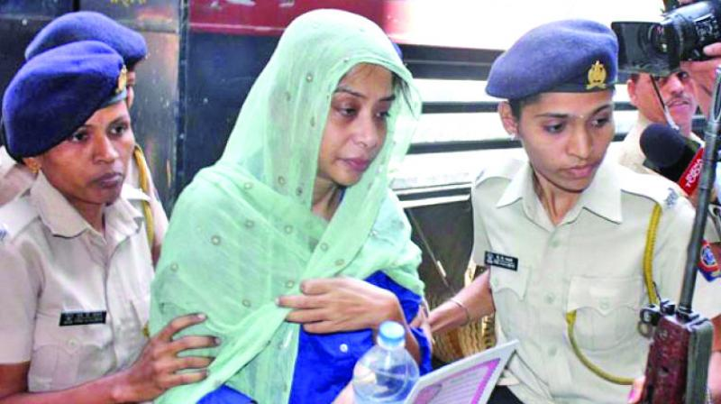 Indrani Mukerjea, a main accused in Sheena Bora  murder case, is lodged at Byculla women's prison.