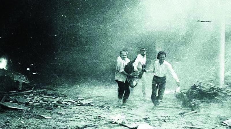 257 people died after a series of bomb blasts ripped through Mumbai on March 12, 1993.