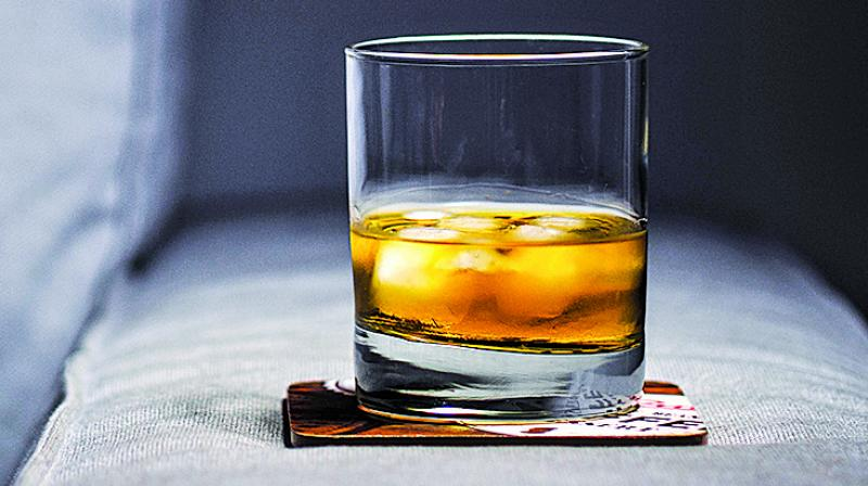 When whisky has an alcohol concentration of 59 per cent of higher, the guaiacol becomes far more surrounded by the ethanol molecules, which in turn makes the flavour of the beverage less potent.