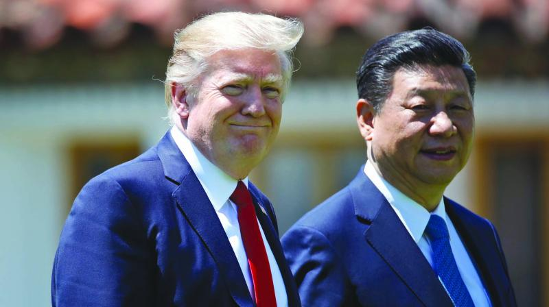 US President Donald Trump and Chinese President Xi Jinping (Photo: AP)