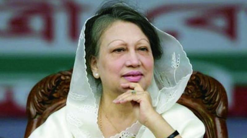 The increased term was ordered over embezzlement charges for which Zia, arch-rival of Prime Minister Sheikh Hasina, was sentenced in February. (Photo: File)
