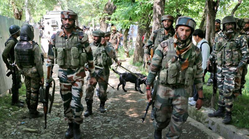 The ultras fired an under barrel grenade launcher at a joint camp of CRPF. (Photo: PTI/Representational))